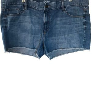 Ann Taylor Loft Distressed Shorts